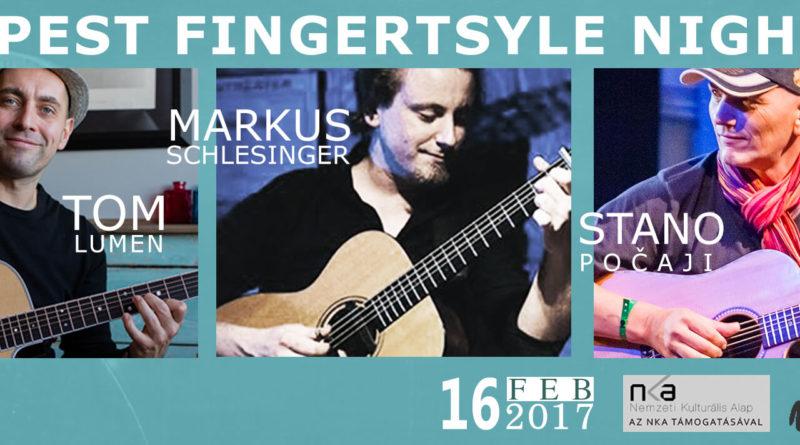 Budapest Fingerstyle Night 2017 február