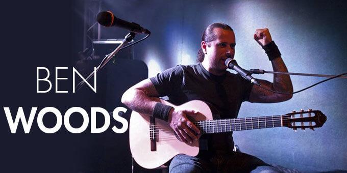 Ben Woods fingerstyle gitáros